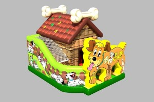 Wuffi - Die verrückte Hundehütte