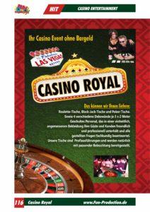 Casino Entertainment Casino Royal Fun Production GmbH
