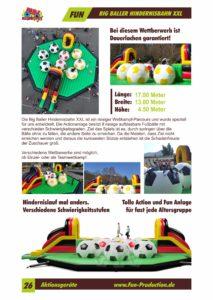 Big Baller Hindernisbahn XXL Fun Production GmbH