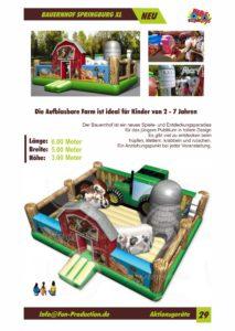 Bauernhof Springburg XL Fun Production GmbH