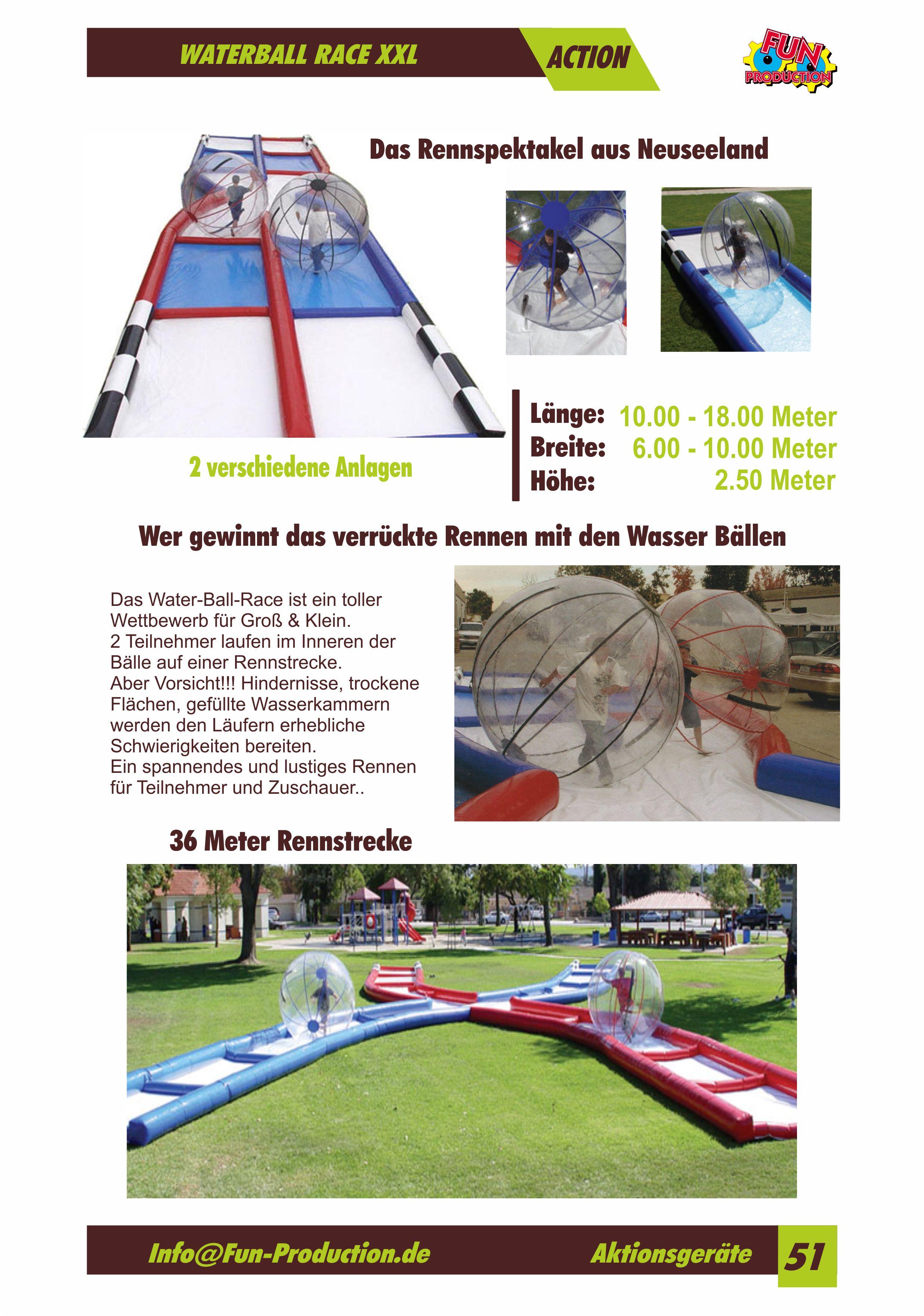 Waterball Race Fun Production GmbH