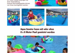 Bumper Boats Aqua Scooter Fun Production GmbH