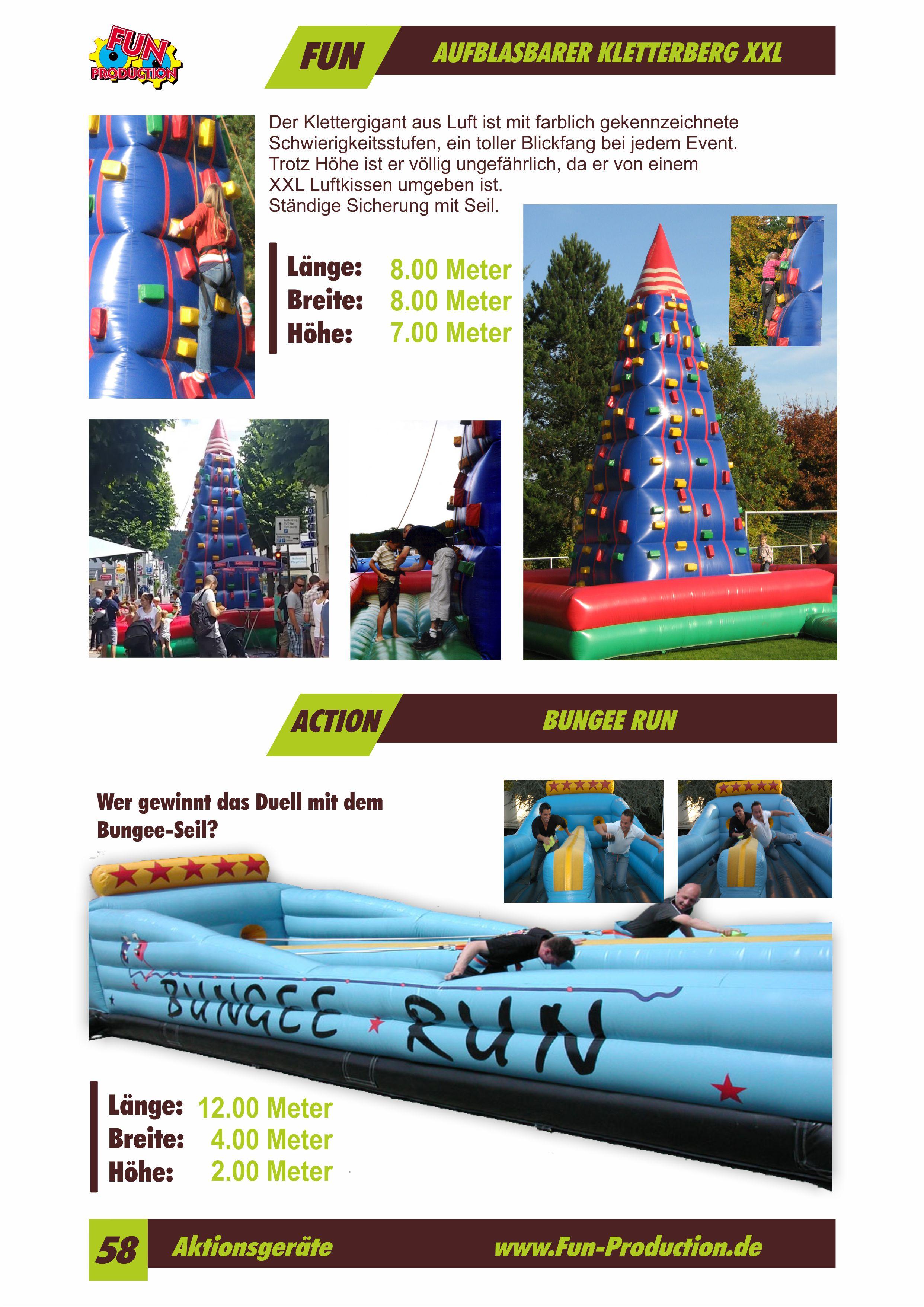 Air Kletterberg Bungee Run Fun Production GmbH
