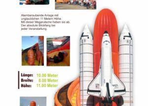 Space Shuttle Riesenrutsche Fun Production GmbH