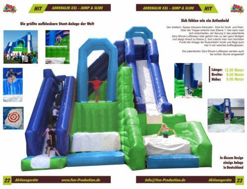 Adrenalin XXL Jump & Slide