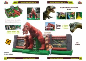 Jurassic Park XXL, Fun Production GmbH