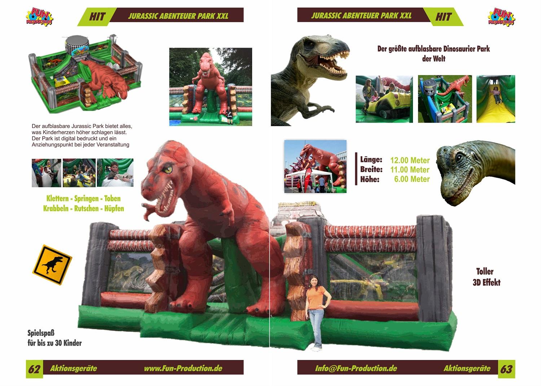 Jurassic Park XXL, Fun Production GmbH