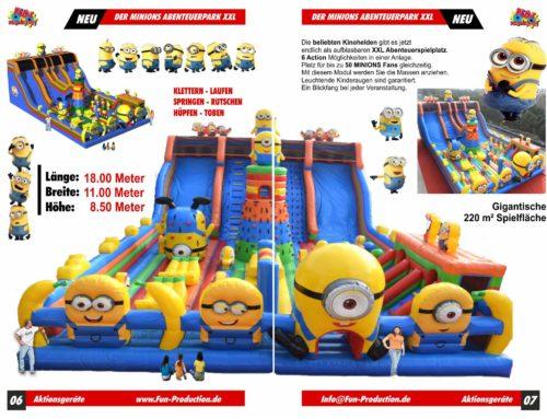 Minions® Abenteuerpark XXL