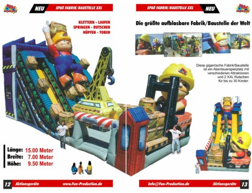 Spaßfabrik / Baustelle XXL