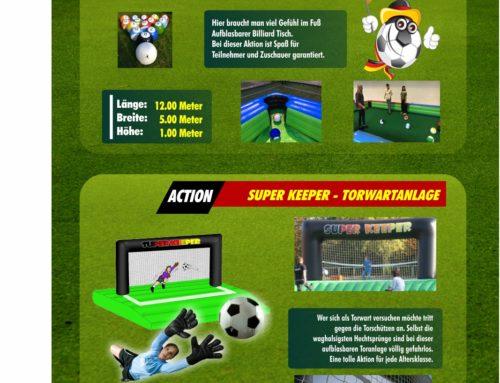 Fußball Billiard XXL + Super Keeper